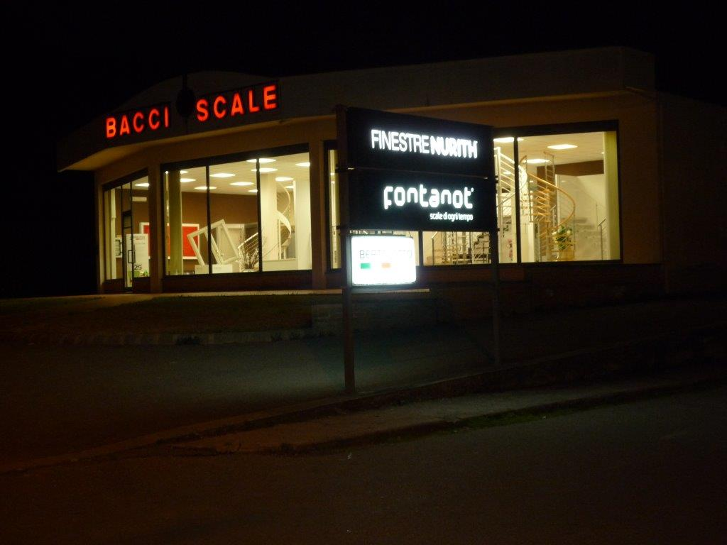 "NUOVO FINESTRENURITH POINT ""BACCI SCALE"" a BUTI (PISA)"