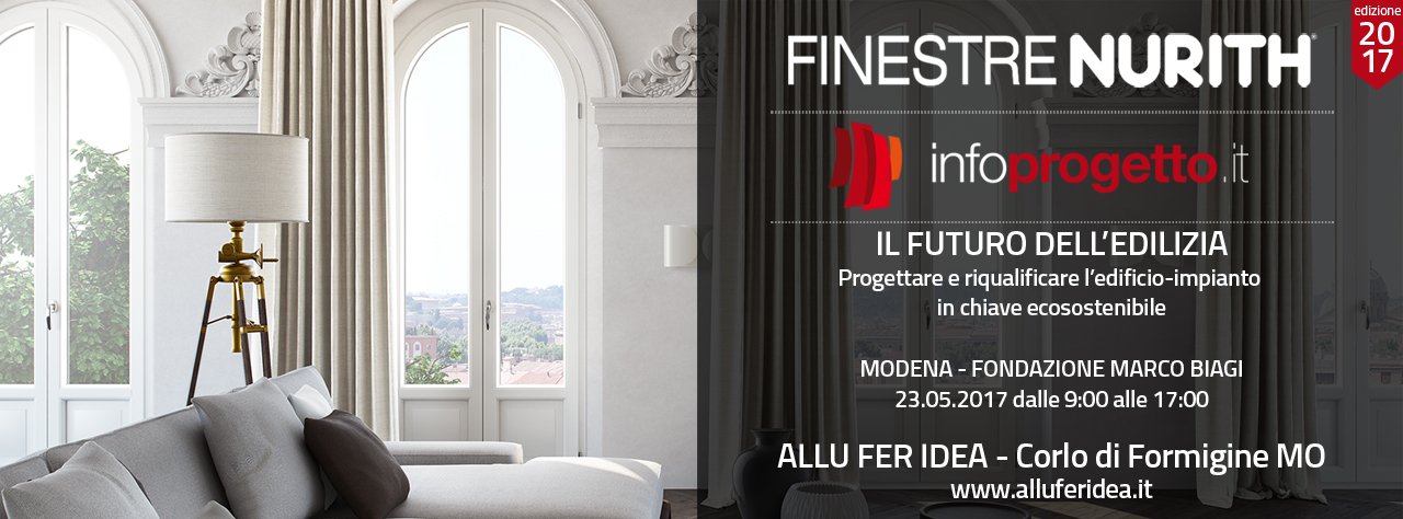 FINESTRENURITH presente all'evento INFOPROGETTO di MODENA