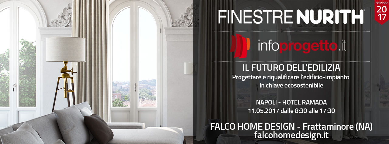 FINESTRENURITH presente all'evento INFOPROGETTO di NAPOLI