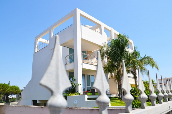 "In the heart of the Mediterranean, PVC windows for villa ""CERTIFIED"